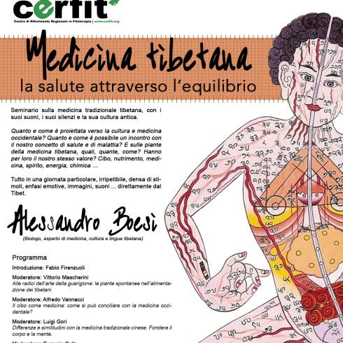Locandina Medicina Tibetana